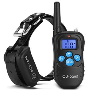 OU-BAND Waterproof Battery Powered Shock Collar