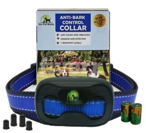Pro Pet Works No Bark Dog Collar