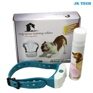 JK TECH Rechargeable No Bark Spray Dog Training