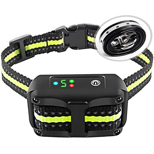 Bark Collar with Beep Vibration and Shock for Small Medium Large Dogs